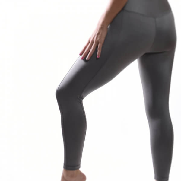 Grey legging spanx active high rise yoga style