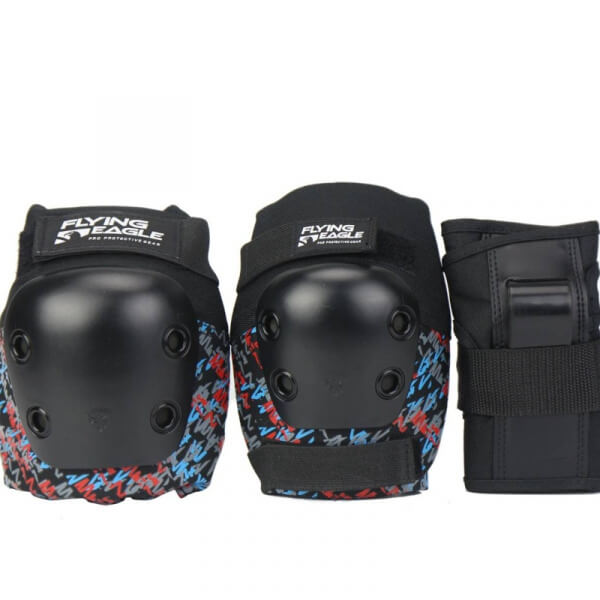 Flying Eagle Tripack de Protecciones Armor