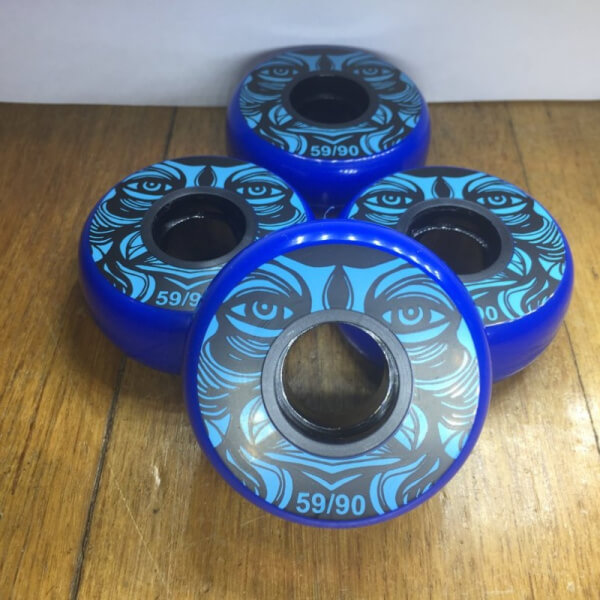 Kaltik Blue Face 59 mm